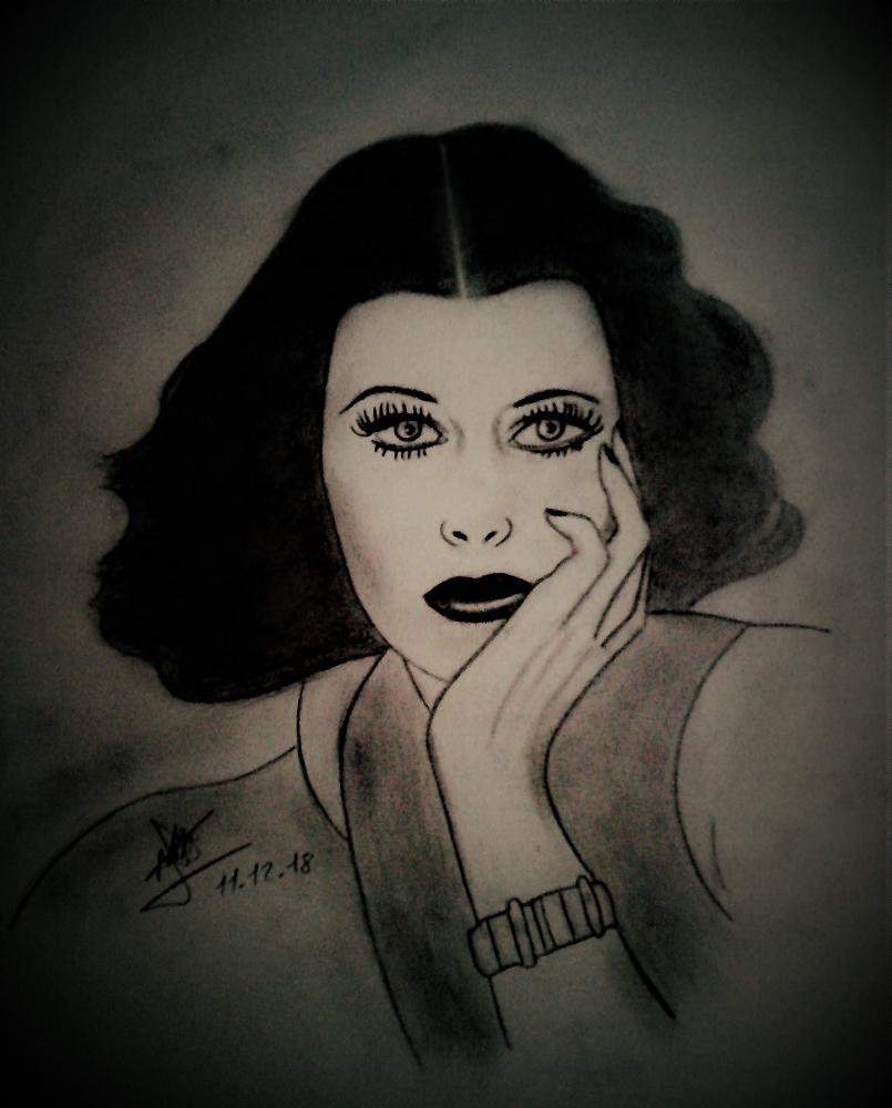 Hedy Lamarr by aline17